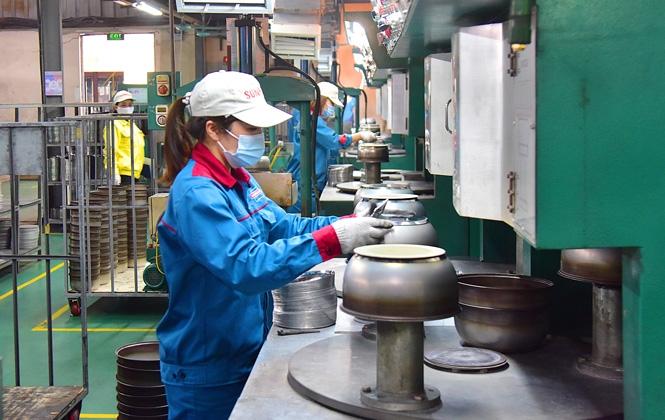 Chỉ số sản xuất công nghiệp của Hà Nội