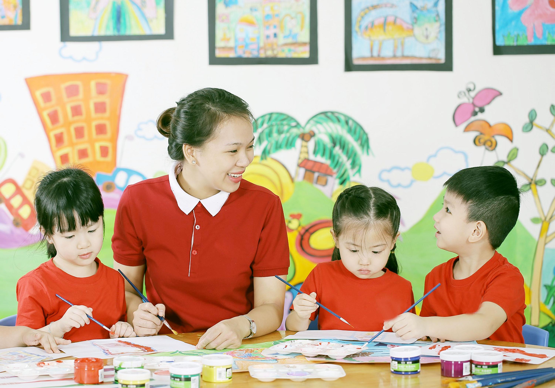 Xếp lương giáo viên mầm non theo 4 hạng