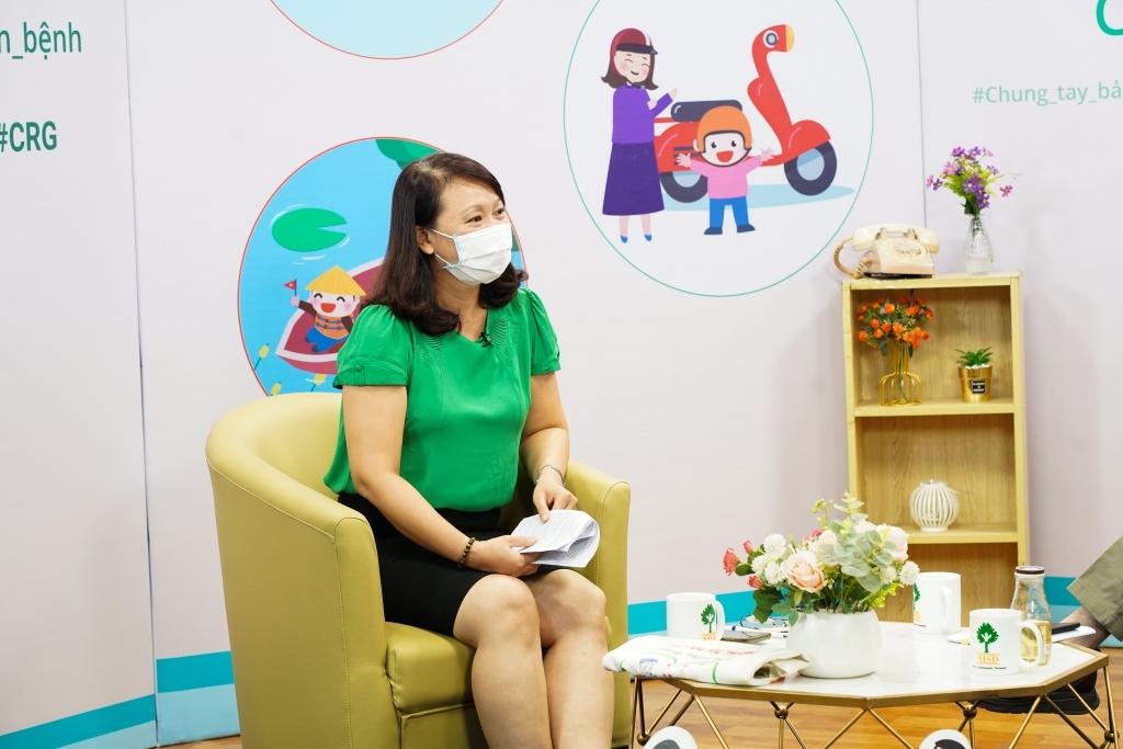 Bà Nguyễn Hải Anh - Quản lý dự án Viện MSD