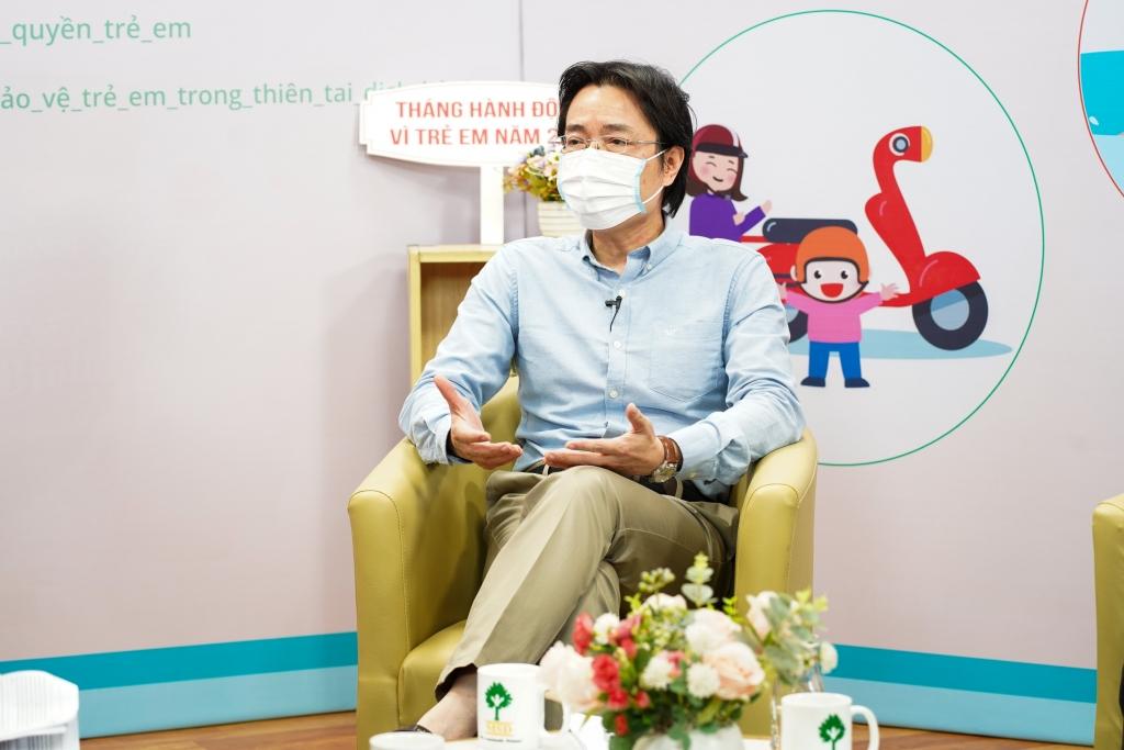 Ông Đặng Hoa Nam - Cục trưởng Cục Trẻ em