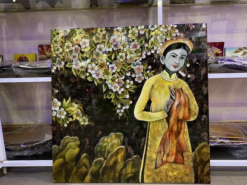 """Nghệ thuật sơn mài - Để các """"bảo tàng sống"""" không lụi tàn"""