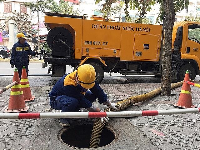 Hà Nội chủ động các giải pháp chống úng ngập mùa mưa năm 2021