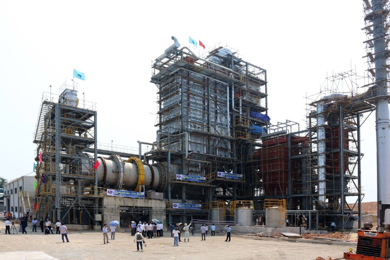 Nhà máy Xử lý chất thải rắn phát điện Nam Sơn (huyện Sóc Sơn) sử dụng công nghệ hiện đại, với tổng vốn đầu tư trên 645 tỷ đồng