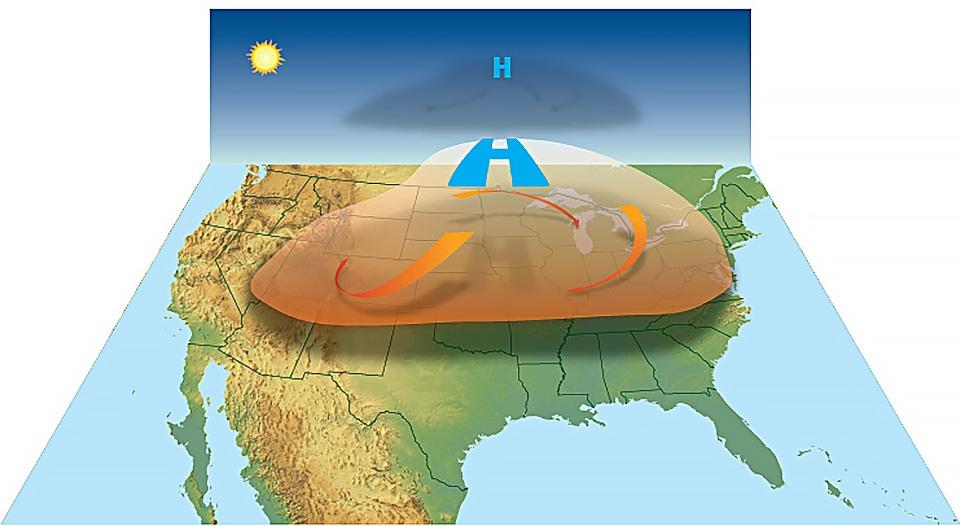 Nguyên nhân gây ra nắng nóng với nhiều kỷ lục nhiệt độ bị xô đổ?