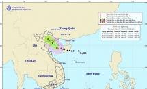 Gió giật cấp 9 ở Bạch Long Vĩ, bão số 2 còn cách đất liền 180km