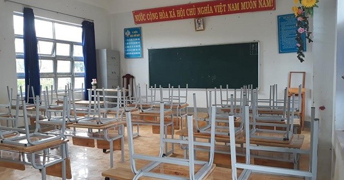 Kon Tum: Nhiều trường cho học sinh nghỉ học để phòng bệnh bạch hầu