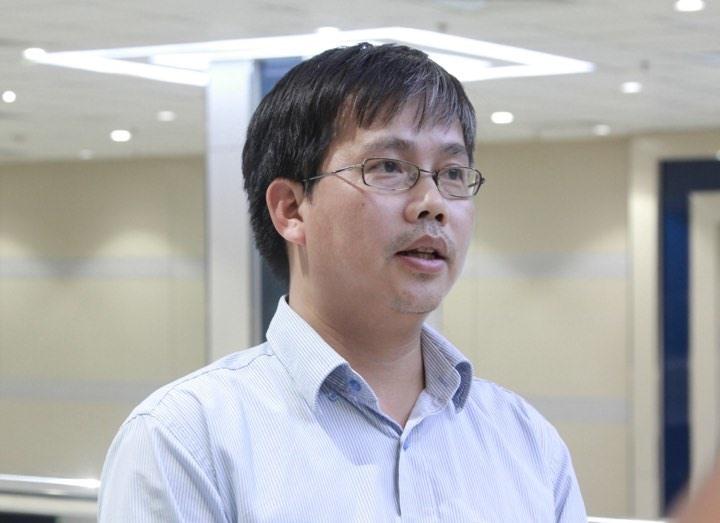 TS Mai Văn Khiêm - Giám đốc Trung tâm Dự báo Khí tượng Thuỷ văn Quốc gia. Ảnh: PV.