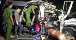 Vụ tai nạn 8 người tử vong: Xe khách đi sai phần đường, vận tốc 69 km/h