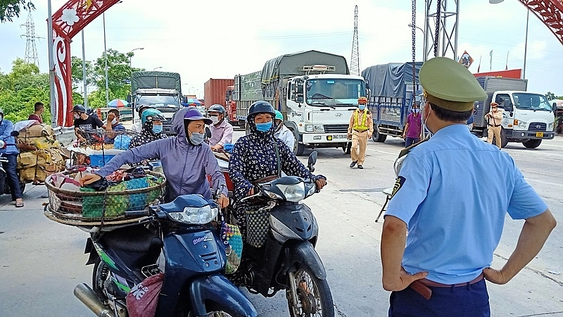 Người đi qua Hà Nội về Thái Bình phải cách ly 14 ngày