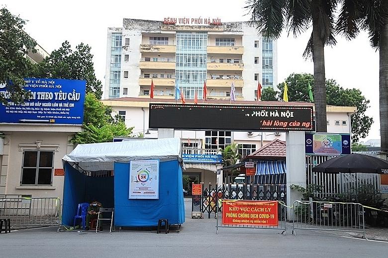 Cách ly y tế Bệnh viện Phổi Hà Nội