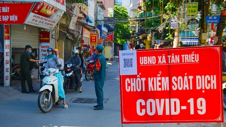 """""""Lá chắn"""" phòng chống dịch trong nội thành Hà Nội"""