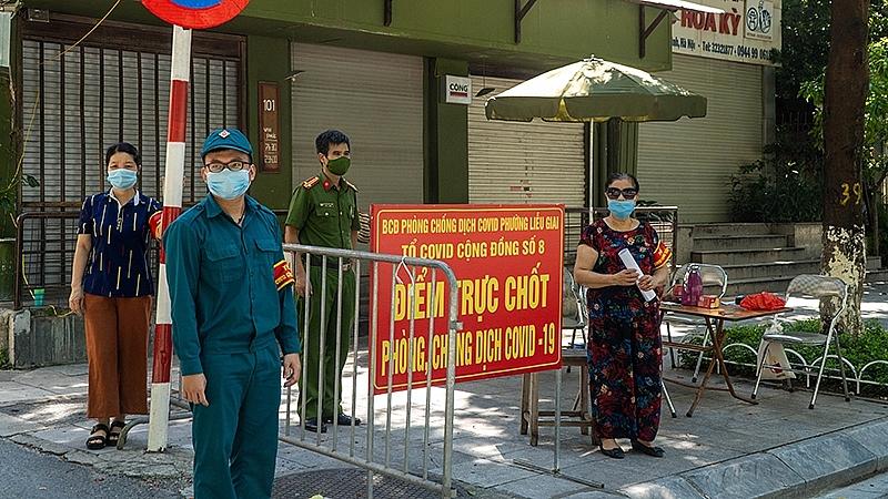 """""""Lá chắn thép"""" phòng chống dịch trong nội thành Hà Nội"""
