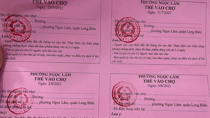 Người trẻ Hà Nội nói gì về phương thức phát phiếu đi chợ?