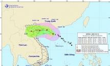 Bão số 3 tiến sát Vịnh Bắc Bộ,mưa lớn diện rộng những ngày đầu tháng cô hồn
