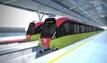 Đoàn tàu tuyến metro Nhổn - ga Hà Nội về Việt Nam đầu năm 2020