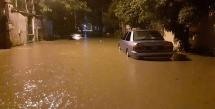 Hoàn lưu bão số 3 gây mưa lớn toàn Bắc Bộ, Hà Nội ngập nhiều tuyến phố