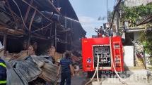 Khuyến nghị không dùng thực phẩm trong bán kính 1km sau vụ cháy nhà máy Rạng Đông