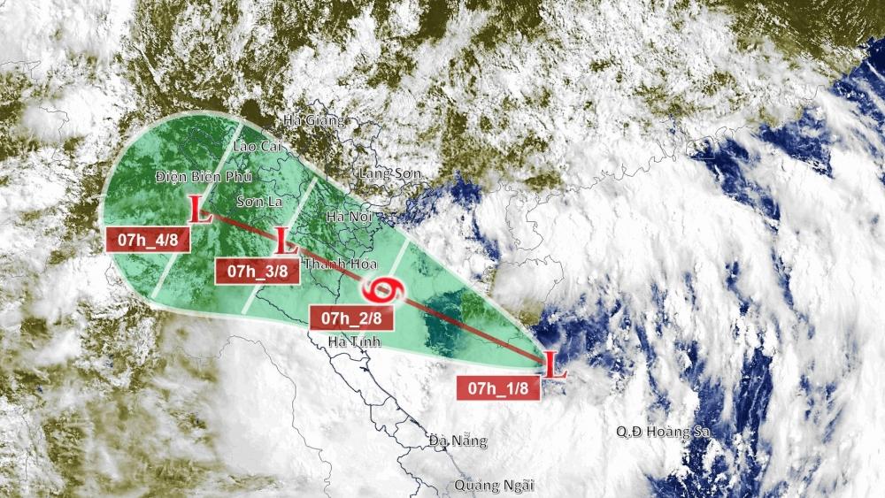 Chủ tịch tỉnh Thanh Hóa ra công điện khẩn ứng phó bão số 2