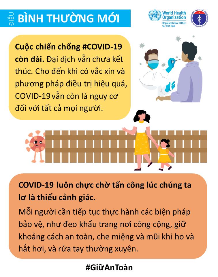 Những điều bình thường mới nên thực hiện khi dịch Covid-19 bùng phát
