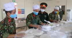 Hà Nội bảo đảm chu đáo bữa ăn cho các công dân cách ly tập trung