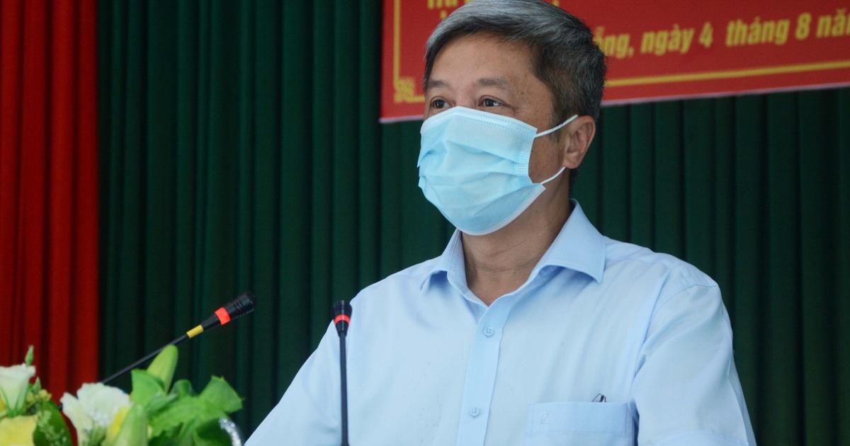 Thứ trưởng Nguyễn Trường Sơn rời Đà Nẵng sau 3 tuần ở tâm dịch Covid-19