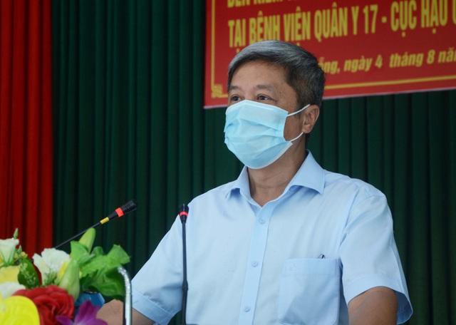Thứ trưởng Nguyễn Trường Sơn rời Đà Nẵng sau 3 tuần ở tâm dịch Covid-19 - 1