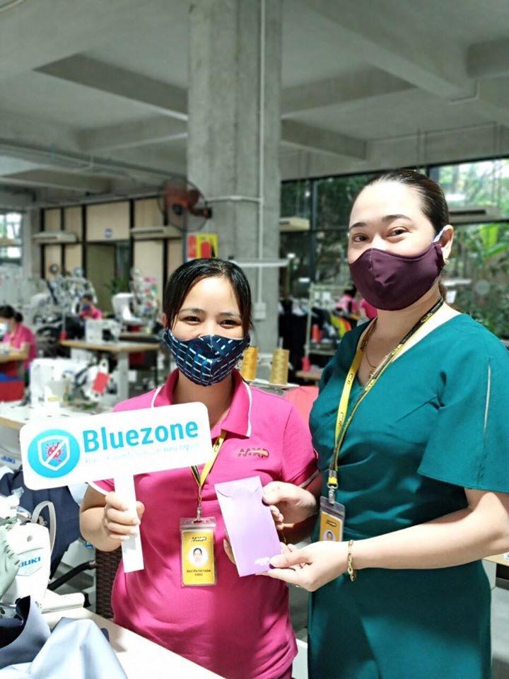 90% công nhân MXP cài Bluezone: Bảo vệ mình và bảo vệ cộng đồng