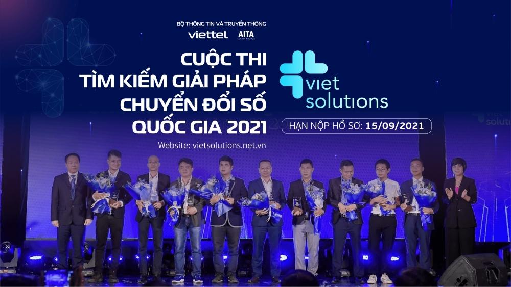 Viet Solutions 2021 gia hạn nộp hồ sơ dự thi đến hết ngày 15/9