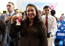 Giáo viên quốc tế thích thú với lễ khai giảng tại TH School