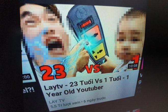 youtuber viet lam video huong dan tre em nghich o cam dien