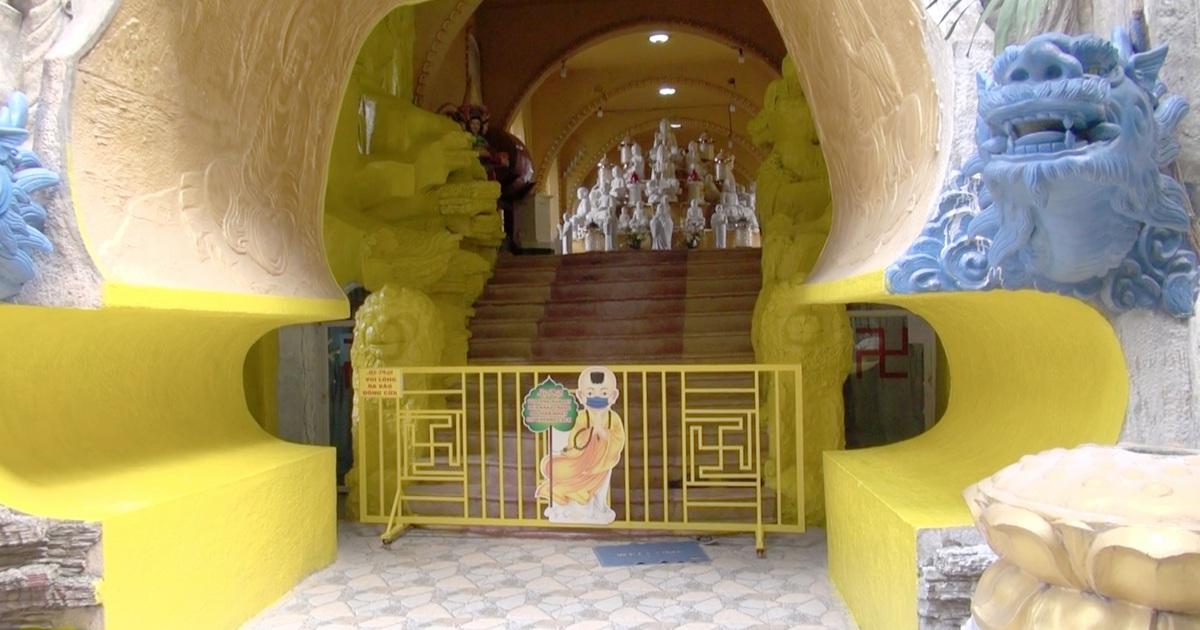 Nhiều hũ tro cốt rơi di ảnh, sư trụ trì chùa Kỳ Quang 2 nhận trách nhiệm