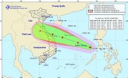 Bão số 5 trên biển Đông sẽ đổ bộ vào miền Trung Việt Nam?