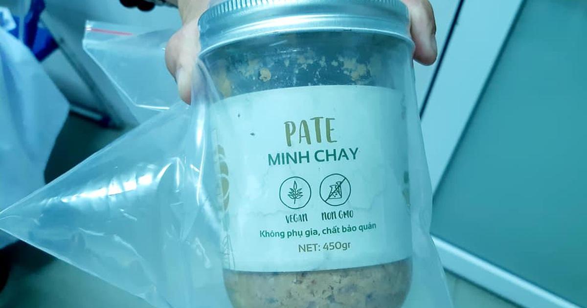 3 người ngộ độc là do độc tố botulinum trong mẫu pate Minh Chay