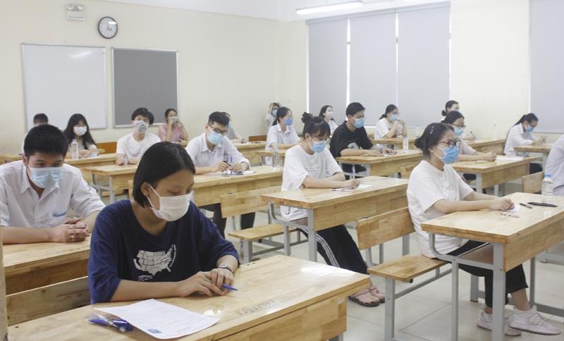 Thí sinh đã xác nhận nhập học không được điều chỉnh nguyện vọng