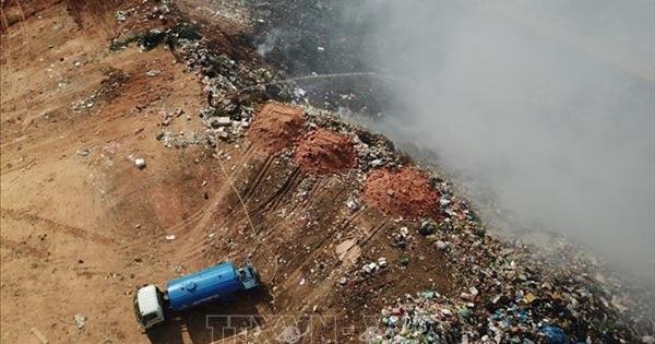 Hơn 48 tỷ đồng thực hiện đóng cửa bãi rác Cam Ly