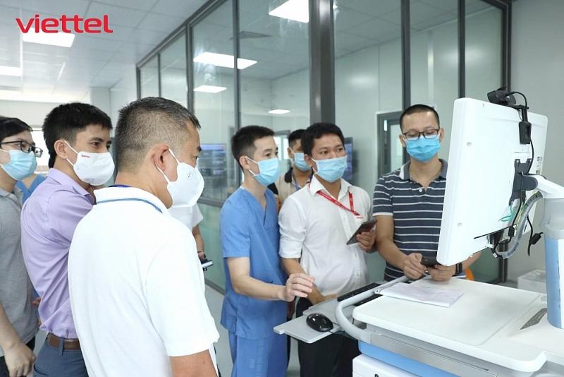 Hạ tầng công nghệ thông tin của bệnh viện dã chiến hiện đại nhất Hà Nội có gì đặc biệt?