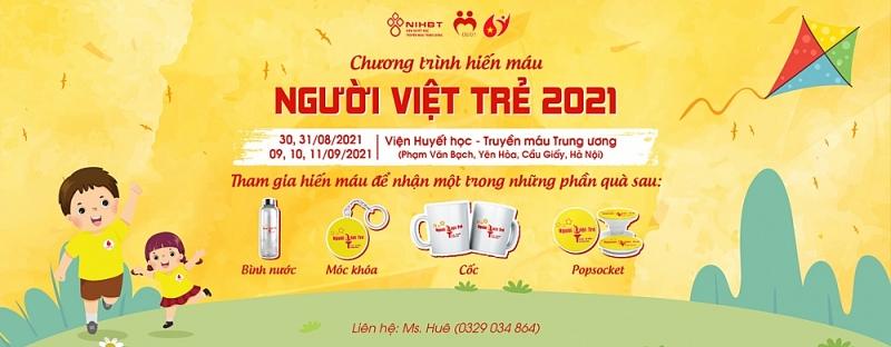 Người Việt trẻ 2021: Cần thêm những cánh tay hiến máu