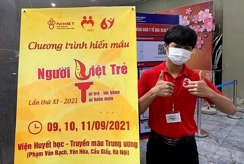 Chính hội Người Việt Trẻ 2021: Hiến máu cùng miền Nam vượt qua đại dịch