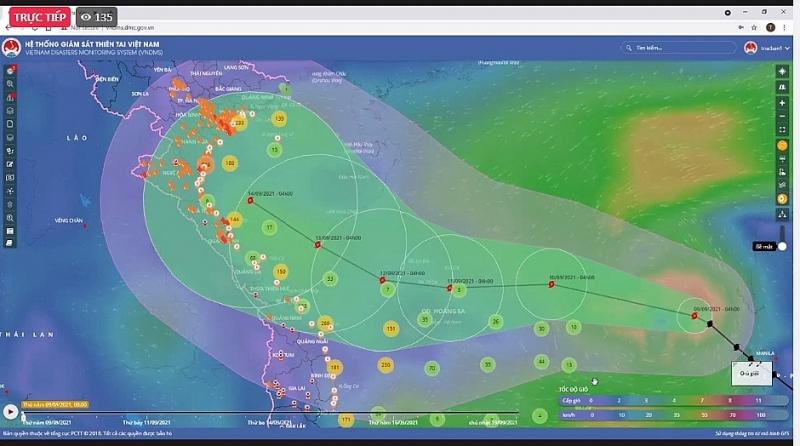 Chủ động ứng phó với bão Conson, đảm bảo an toàn phòng chống dịch và thiên tai