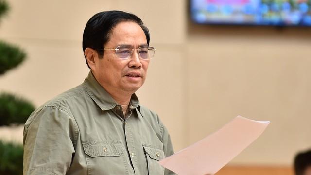 Thủ tướng: Nâng cao vai trò nêu gương của người đứng đầu trong chỉ đạo phòng, chống dịch