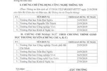 them 9 truong dh phai dung cap chung chi ngoai ngu tin hoc
