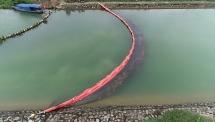 Nhà máy nước sông Đà được lắp màng ngăn dầu