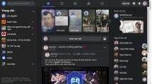 facebook bat dau thu nghiem che do toi cho giao dien web