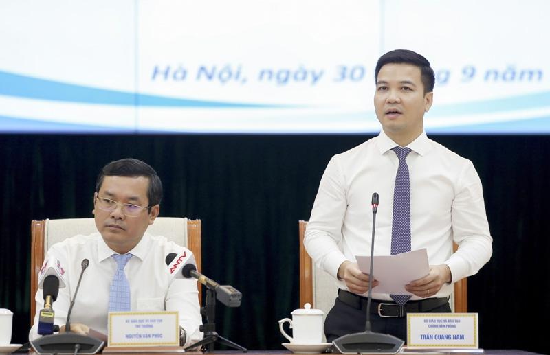ông Trần Quang Nam – Chánh Văn phòng Bộ GD&ĐT