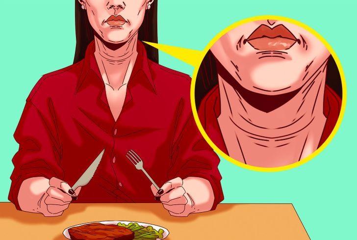 Sai lầm 3: Ăn quá nhiều thịt đỏ tăng nếp nhăn trên khuôn mặt Nghiên cứu của Hà Lan cho thấy phụ nữ ăn thịt đỏ có xu hướng có nhiều nếp nhăn hơn. Hơn nữa, nếu nấu thịt và mỡ ở nhiệt độ cao có thể tăng nguy cơ mắc bệnh tiểu đường . Có thể ngăn ngừa điều này bằng cách ăn ít thịt hơn và chọn súp hoặc món hầm thay vì nướng. Ngoài ra, hãy cố gắng ăn nhiều trái cây hơn trong chế độ dinh dưỡng của bạn.