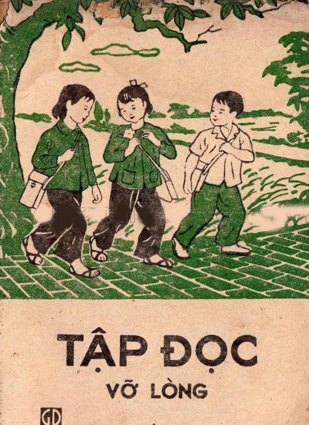 Sách Tập đọc vỡ lòng của Nhà xuất bản Giáo dục, xuất bản năm 1979.