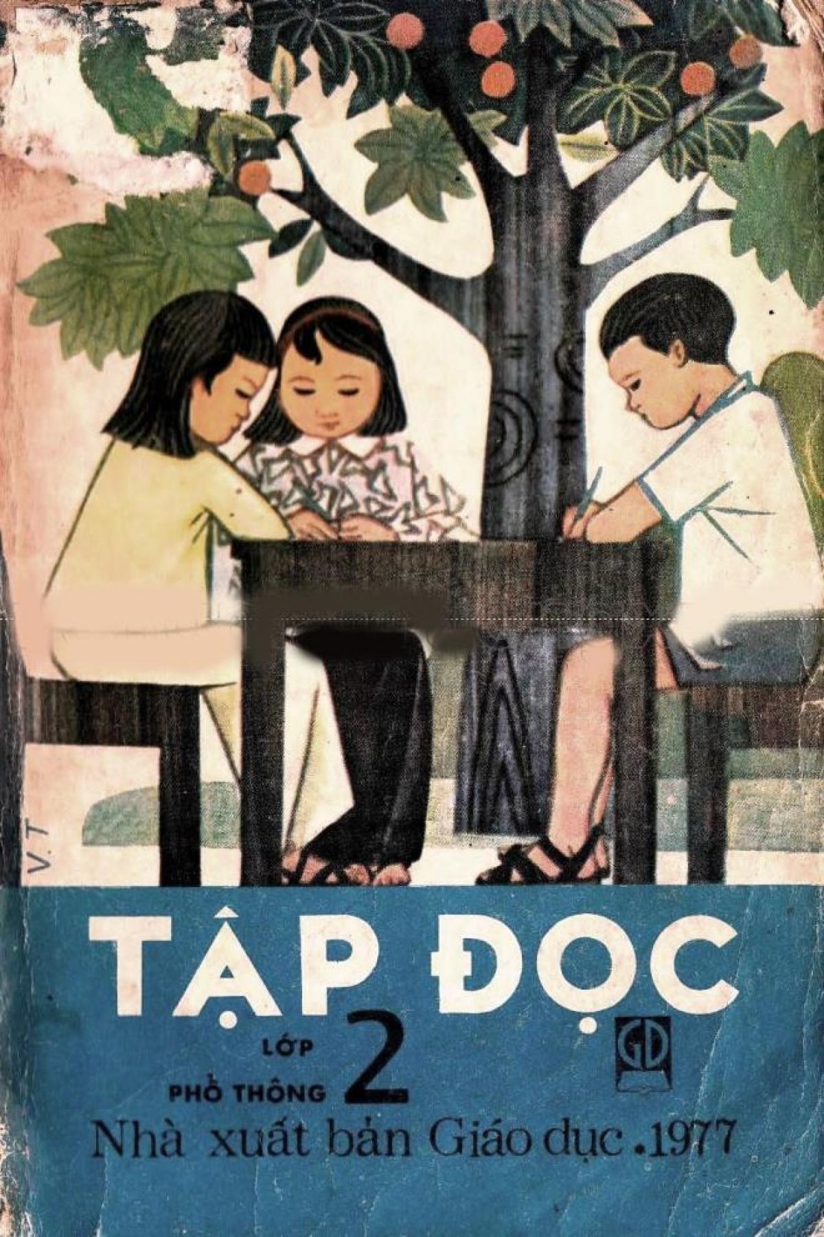 Riêng thập kỷ 1970 (sau khi thống nhất đất nước), môn học tương ứng với môn Tiếng Việt hiện nay ở lớp 5 trở xuống đều gọi là Tập đọc.