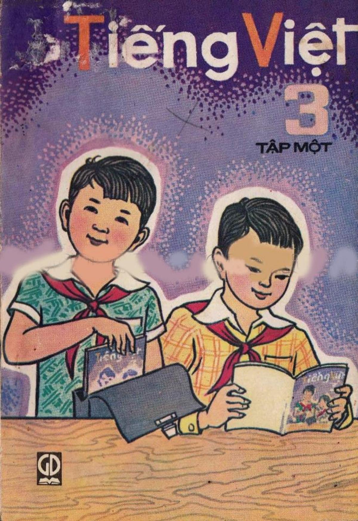 Sách Tiếng Việt lớp 3 tập 1, xuất bản năm 1983.