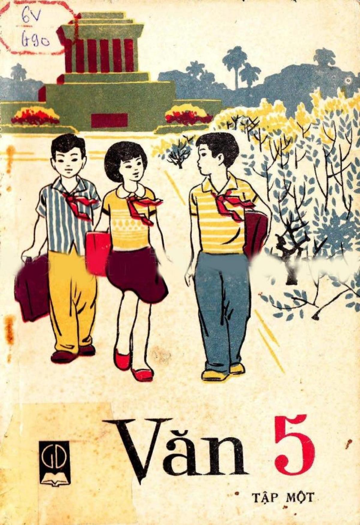Sách Tiếng Việt lớp 4 tập 2, xuất bản năm 1988.