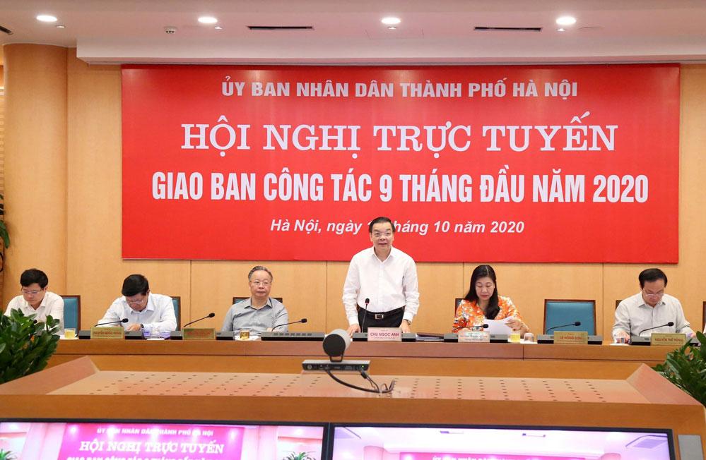 Hà Nội đang đạt mức tăng trưởng gấp 1,54 lần so với cả nước